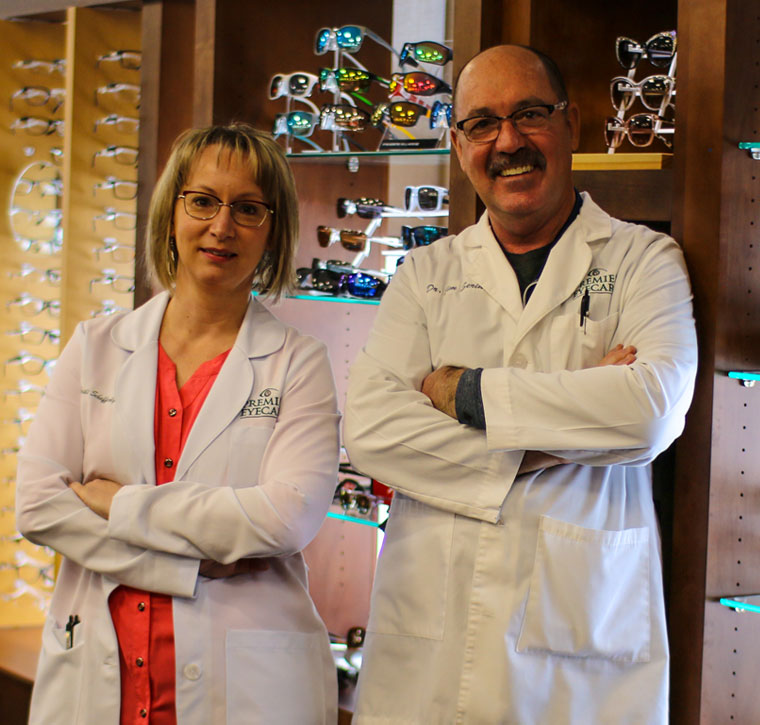 eye doctors Serino and Schefferly